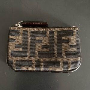 vintage fendi zip pouch